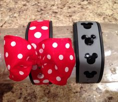 His and Hers DIY Disney Magic Bands painted with nail polish. Ready to get your own Magic Band? #PAPD