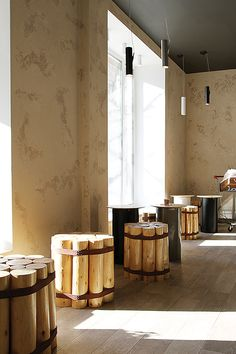 BIOSTORIA natural products store by FRISHMANN, Moscow » Retail Design Blog