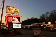 drive in Burger joint - South 21.