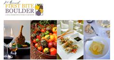 November 14-22 -- First Bite Boulder is an annual event highlighting Boulder's dining scene. Select restaurants will be offering a special three course $27 (may be variable) prix fixe dinner menu to the community.