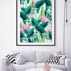 'Lovely Botanical' Poster @redbubble #redbubble #buyart #decor