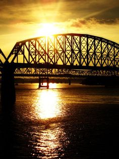 Bridge over the Ohio River - my children's home ( and home to my husband & I for 25 yrs now)