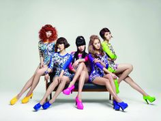 Korean girl group 4Minute to meet fans and inspire K-pop hopefuls.
