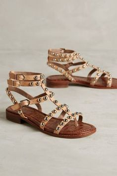 Sam Edelman Eavan Gladiators Nude 9 Shoes #anthrofave