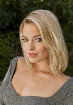 Margot Robbie, gorgeous makeup