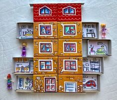 Hand Crafts For Kids, Projects For Kids, Diy For Kids, Matchbox Crafts, Matchbox Art, Cute Crafts, Diy And Crafts, Paper Crafts, Material Didático