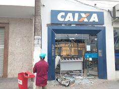 NONATO NOTÍCIAS: Explosão a banco derruba teto de agência e deixa c...