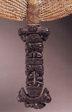 "Marquesas Fan ""Tahi"", early 19th c."