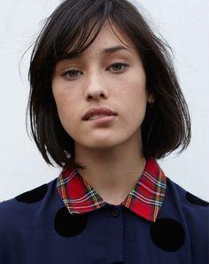 Portrait of model, Lydia Graham