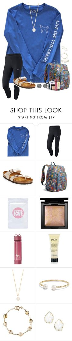 """""""~everyone's been really salty lately~"""" by taylortinsley ❤ liked on Polyvore featuring NIKE, Birkenstock, Vera Bradley, Bare Escentuals, Victoria's Secret, philosophy, ZoÃ« Chicco, David Yurman, Tessa Packard and Kendra Scott"""