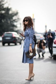Rainy day outfit ideas - Miroslava Duma