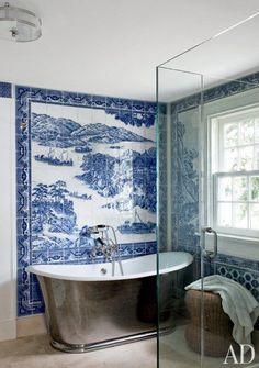 Inspiration from Bathrooms.com: Russel Piccione via AD