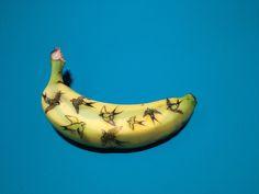 Banana Graffiti, by Marta Grossi