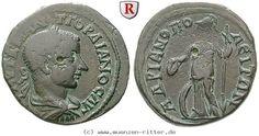 RITTER Thrakien, Hadrianopolis, Gordianus III., Athena #coins