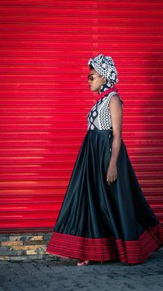 Lixesha Dress African Print designer dress African Print Dress Designs, African Design, Urban Dresses, Zulu, Designer Dresses, Print Design, Collection, Fashion, Moda