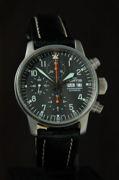 Fortis B-42 Flieger Chronograph Ref 635.10.41 fortis-watches.com
