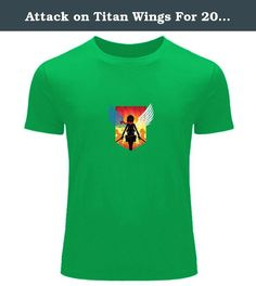Attack on Titan Wings For 2016 Boys Girls Printed Short Sleeve tops t shirts. We offer a mix of 100% Preshrunk Cotton and Poly/Cotton Blends based on availability,designed and printed in the China. We use the highest grade plasticol ink and state of the art equipment to ensure vibrant colors and lasting durability. Professionally printed super soft funny and awesome tees. Our lightweight fitted tees are made from ultra soft ringspun cotton to get that comfortable fit and feel. Once you…