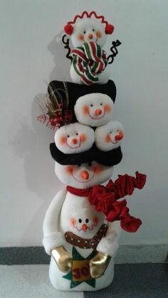 Christmas Crafts, Christmas Ornaments, Snowman, Santa, Holiday Decor, Projects, Pattern, Gifts, Inspiration