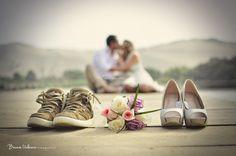 Llevar un segundo par de zapatos de novia