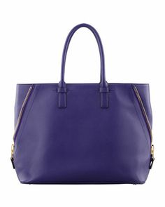 Tom Ford Jennifer Leather Shopper - Neiman Marcus