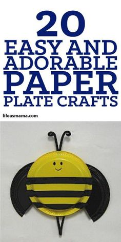 20 Easy And Adorable Paper Plate Crafts