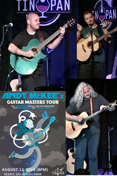 Andy McKee's Guitar Masters Tour on 8/12/16 (included guests, Preston Reed and Craig D'Andrea)  #guitarmasters #guitar #livemusic #musicvenue #richmond #Virginia