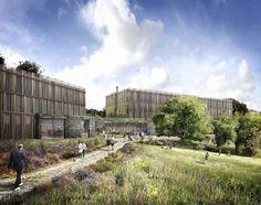 Tate Harmer revela planes para Eco-Hotel en el Eden Project en Inglaterra