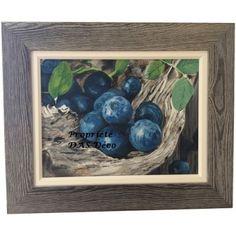 PEINTURE_FRUITS Mes préférés les bleuets_Acrylique