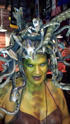Medusa Costume Headpiece tutorial.