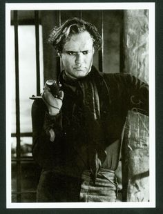 One Eyed Jacks, Marlon Brando (Rio) Marlon Brando, Most Beautiful People, Beautiful Men, Vintage Hollywood, Classic Hollywood, Karl Malden, Western Movies, The Godfather, American Actors