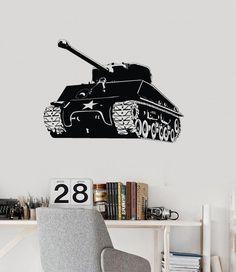 Tank world war 2 COD Wall Art Mural Decor decal sticker vinyl die cut no.2