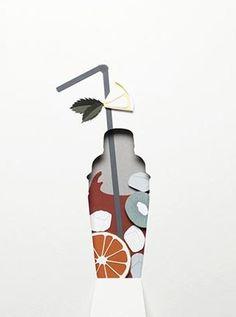 Super Ideas for book art collage negative space 3d Paper Art, Paper Artwork, Diy Paper, Paper Crafts, Kirigami, Paper Cutting, Architecture Origami, Design Set, 2d Design