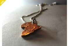 Coin Series - Pendant: Old 1/2 cent, Africa on Sterling Silver Chain by Kallie on hellopretty.co.za