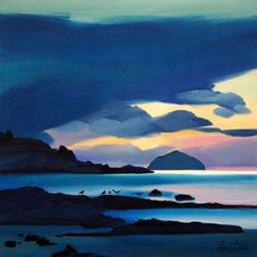 'Twilight Ailsa Craig' by Pam Carter (pc12)