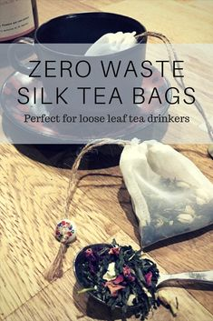 Reusable Perfect for my herbal tea and loose leaf. #ZeroWaste #Reusable #EcoFriendly #beeswax #afflink #Affliate #Teabags #Herbaltea #looseleaftea #Looseleaf