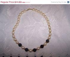 Napier bead necklace vintage necklace 21 inch by vintagebyrudi