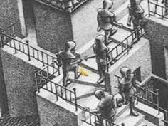 ▶ A Day In The Life Of An MC Escher Drawing (Short Film) - YouTube (1:48)
