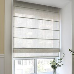 How to Install Mini Blinds in Six Easy Steps Fabric Blinds, Curtain Fabric, Drapes Curtains, Mini Blinds, Blinds For Windows, Shades Blinds, Shades Window, Window Coverings, Window Treatments