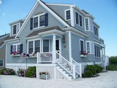 Don't I wish - need vacay buddies!  Bella Mare Beach House ~ Surrounded by the Sea - East Sandwich house rental