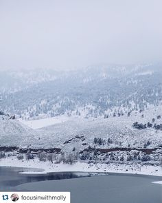 (Photo Cred: @focusinwithmolly) #fortcollins #colorado #coloradogram #coloradography  #lakelife #reservoir #instagood #instadaily #instamood #instanature #hiking #hike #landscape #landscape_lovers #horsetooth #horsetoothreservoir #winterwonderland #winter #snow #mountain #foothills
