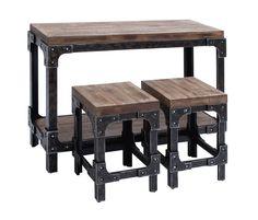 3-Piece Pub Table Set