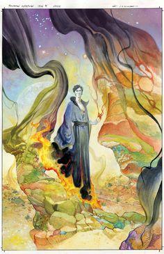 The Sandman Overture #4 - Art by J. H. Williams III
