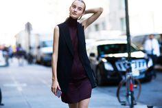 Street style на Неделе моды в Нью-Йорке. Часть 3 | Мода | VOGUE