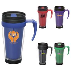 PCR-6632 Largo 16-Oz. Travel Mug