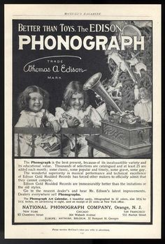Look what I found on @eBay! 1903 EDISON PHONOGRAPH-Video Demo  http://r.ebay.com/iAdiFO