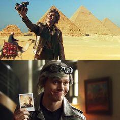 | Evan Peters as Quicksilver |