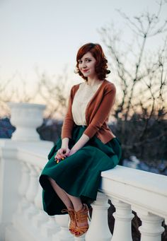 cardigan - Modcloth /// Top - slip dress, old /// skirt - Choies /// heels - ShoeMint ///  (shopping links in the source)