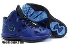 size 40 3023c 175fa Air Foamposite Nike LeBron 8 PS Varsity Royal Black Vibrant Blue  Nike  LeBron 8 PS - It is sporting a varsity royal upper that shifts hues in  different ...