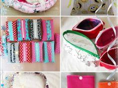 Šitý zaplétaný věnec – návod | Kamila Hejnová Mobiles, Sunglasses Case, Coin Purse, Wallet, Purses, Bags, Handbags, Handbags, Coin Purses