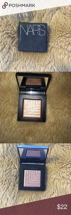 NARS Eyeshadow shade- Himalia. This shade is super pigmented. It's a bronze color with shimmer. Only used twice! Bundle to save :) original price is $29 on Sephora NARS Makeup Eyeshadow